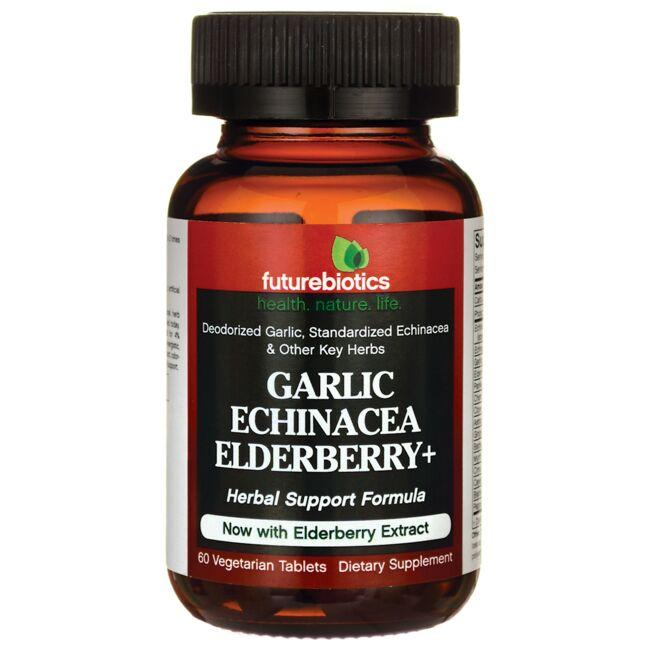 Futurebiotics Garlic Echinacea Elderberry+