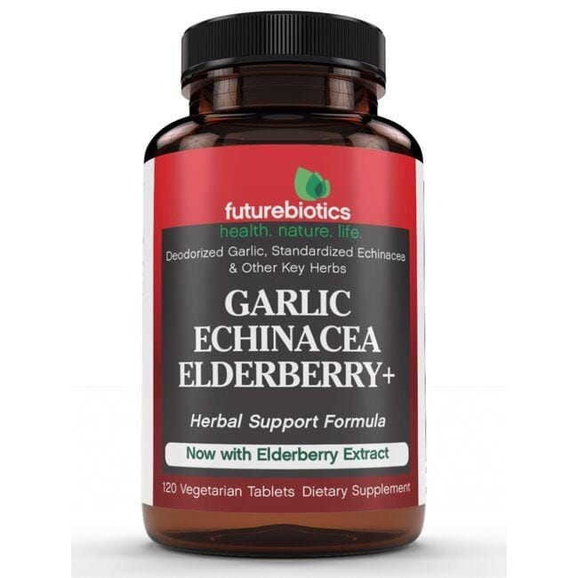 Futurebiotics Garlic Echinacea Elderberry +