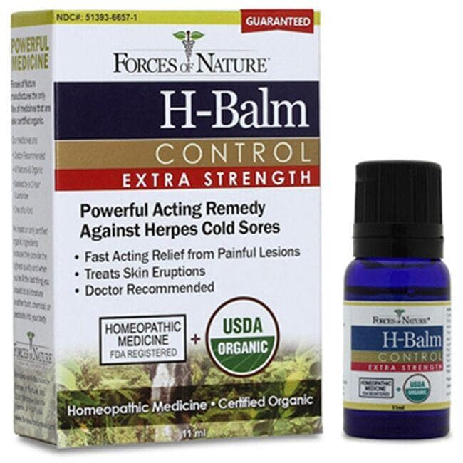 Forces of Nature Organic H-Balm Control - Extra Strength