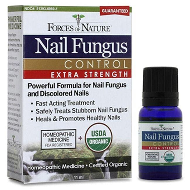 Forces of Nature Organic Nail Fungus Control - Extra Strength