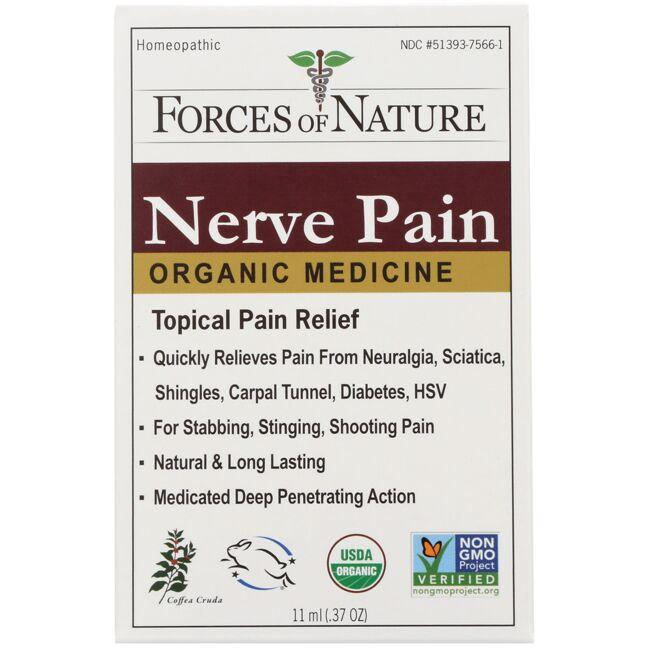 Forces of Nature Organic Nerve Pain Management