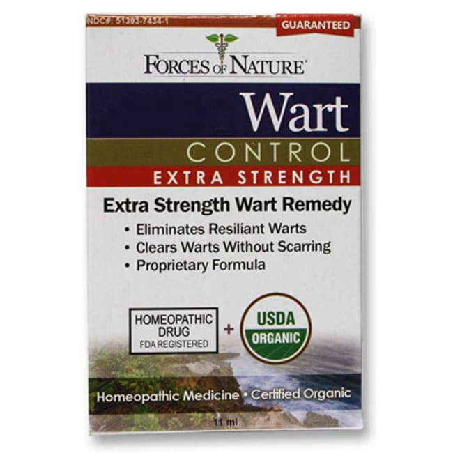 Forces of NatureOrganic Wart Control - Extra Strength