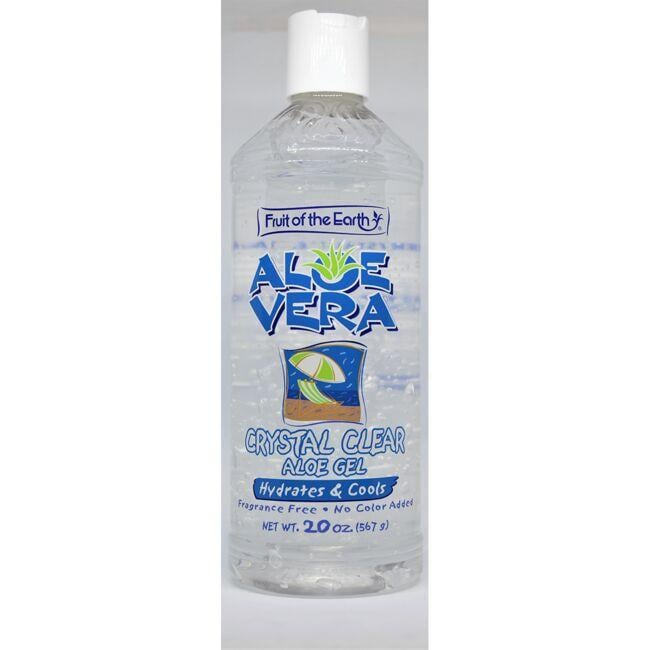 Fruit of the Earth Aloe Vera Crystal Clear Gel