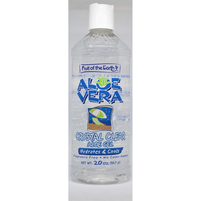 Fruit of the EarthAloe Vera Crystal Clear Gel