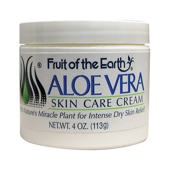 fruit of the earth aloe vera skin care cream 4 oz cream swanson health products. Black Bedroom Furniture Sets. Home Design Ideas