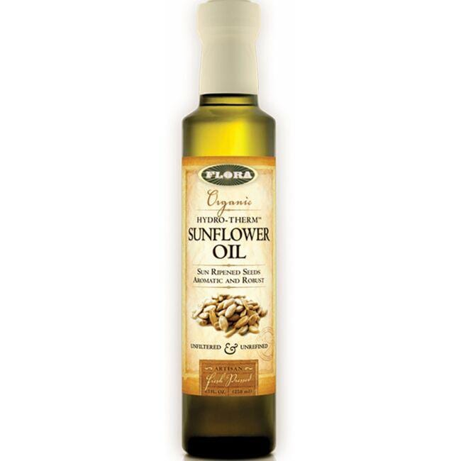 Flora Bija Organic Hydro-Therm Sunflower Oil