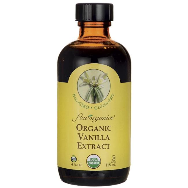 Flavorganics Organic Vanilla Extract 4 fl oz Liquid ...