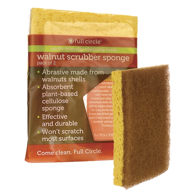 Full Circle HomeWalnut Scrubber Sponge