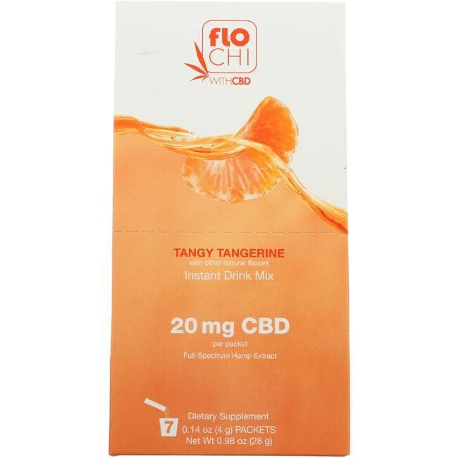 floCHI CBD Instant Drink Mix - Tangy Tangerine