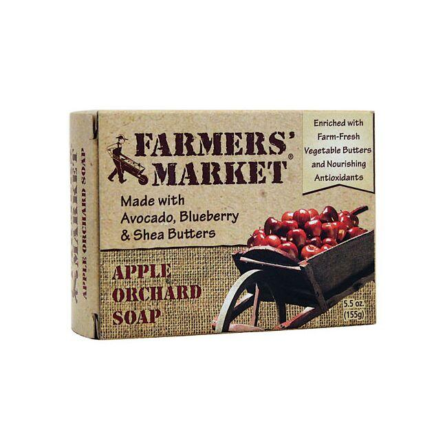 Farmers' Market Apple Orchard Soap