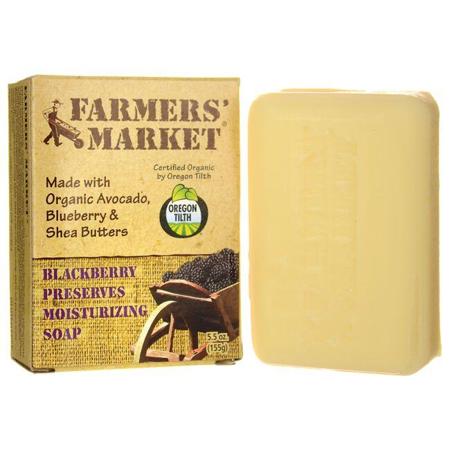 Farmers' Market Blackberry Preserves Moisturizing Soap