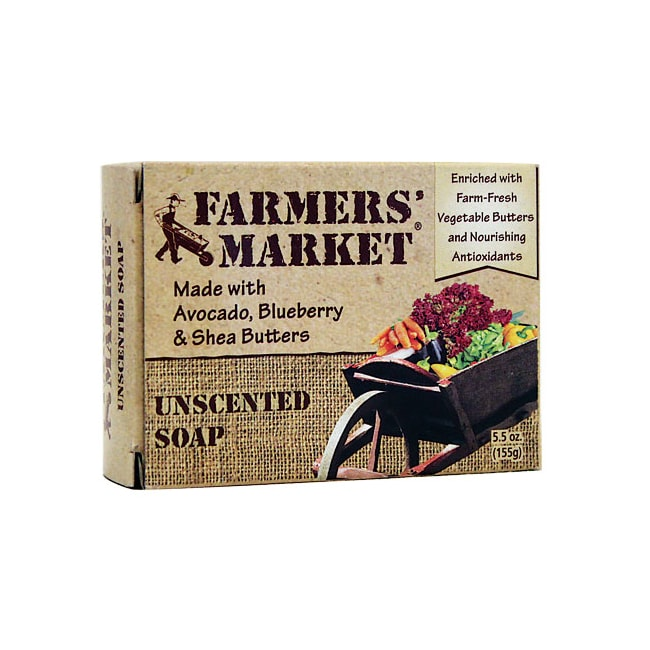 Farmers' MarketUnscented Soap