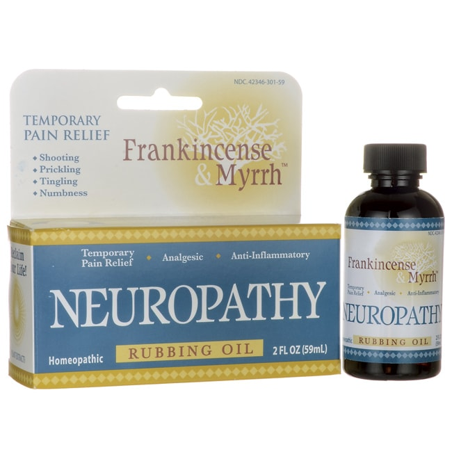 Frankincense & MyrrhNeuropathy Rubbing Oil