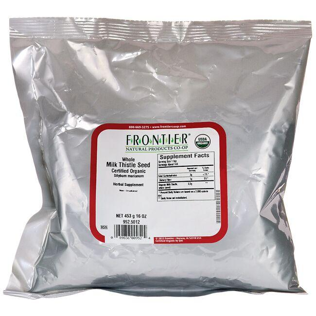 Frontier Co-Op Organic Whole Milk Thistle Seed