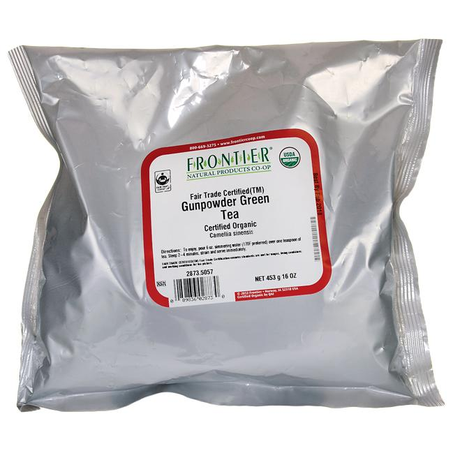 Frontier Co-Op Organic Gunpowder Green Tea