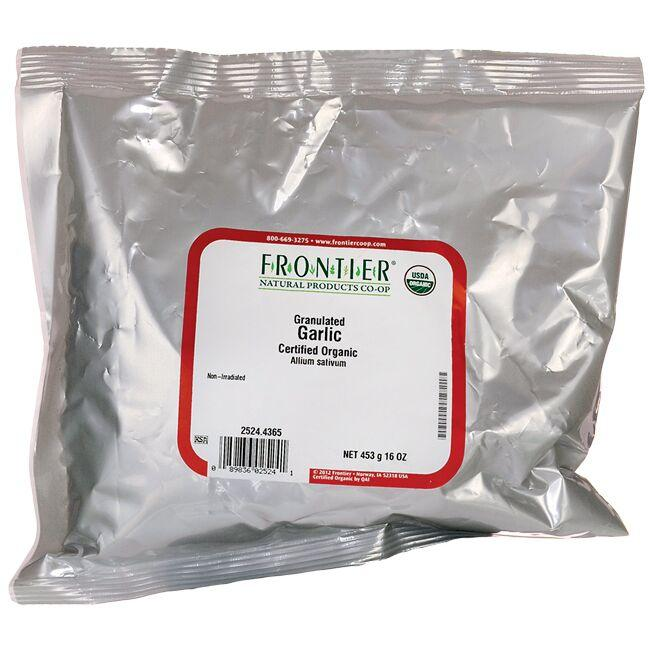 Frontier Co-OpOrganic Granulated Garlic
