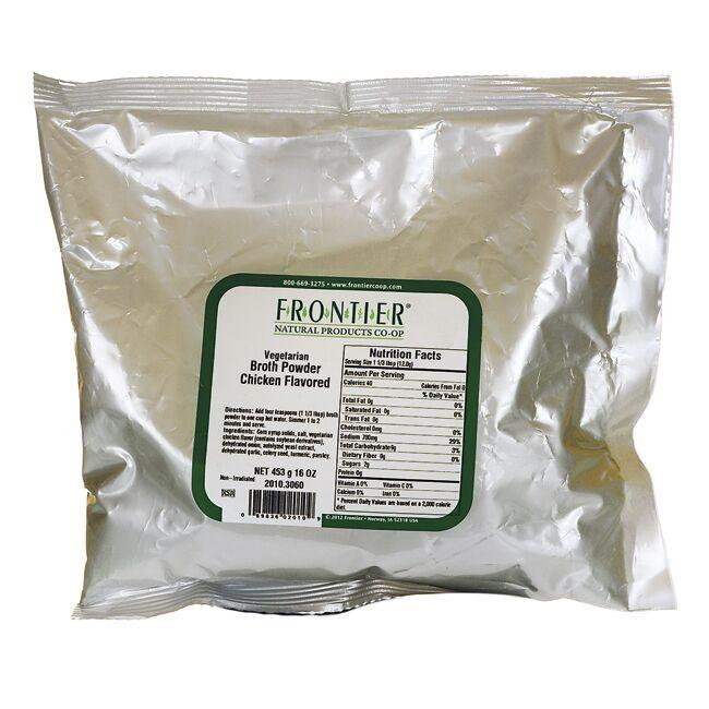 Frontier Natural Products Co-OpVegetarian Broth Powder - No-Chicken