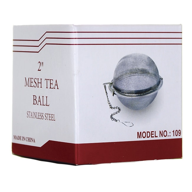 Frontier Natural Products Co-OpStainless Steel Mesh Tea Ball 2