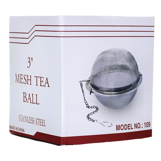 Frontier Natural Products Co-OpStainless Steel Mesh Tea Ball 3