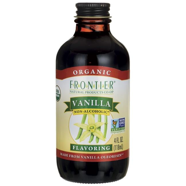 Frontier Natural Products Co-Op Vanilla Flavoring