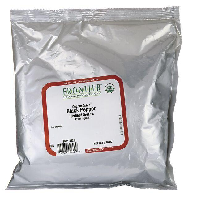 Frontier Natural Products Co-OpOrganic Coarse Grind Black Pepper