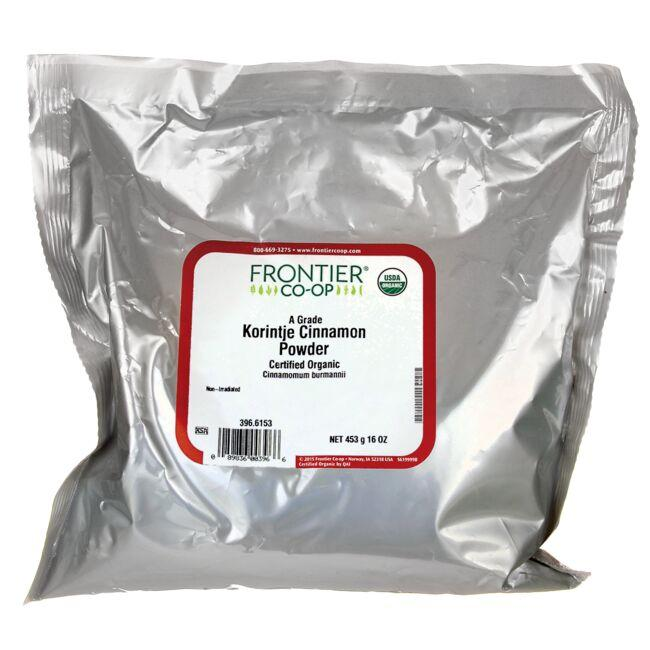 Frontier Co-OpCertified Organic Grade A Korintje Cinnamon Powder