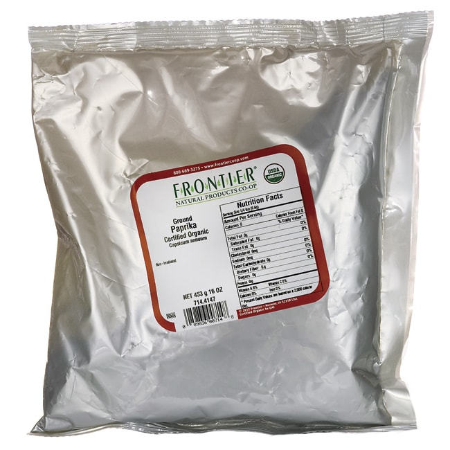 Frontier Natural Products Co-OpOrganic Ground Paprika