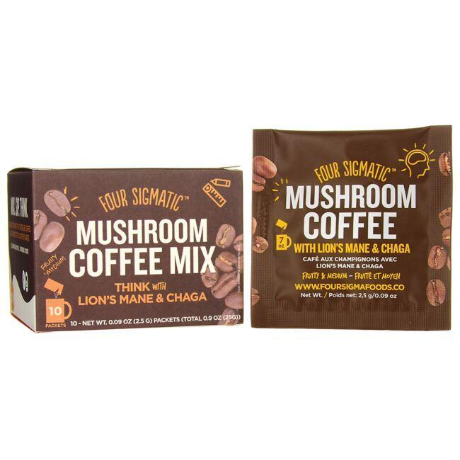Four SigmaticMushroom Coffee Mix - Think