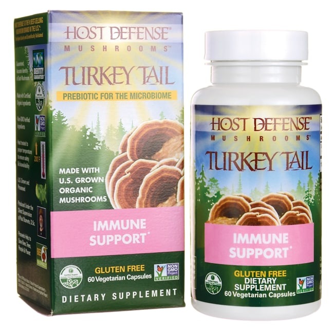 Fungi Perfecti Host Defense Turkey Tail