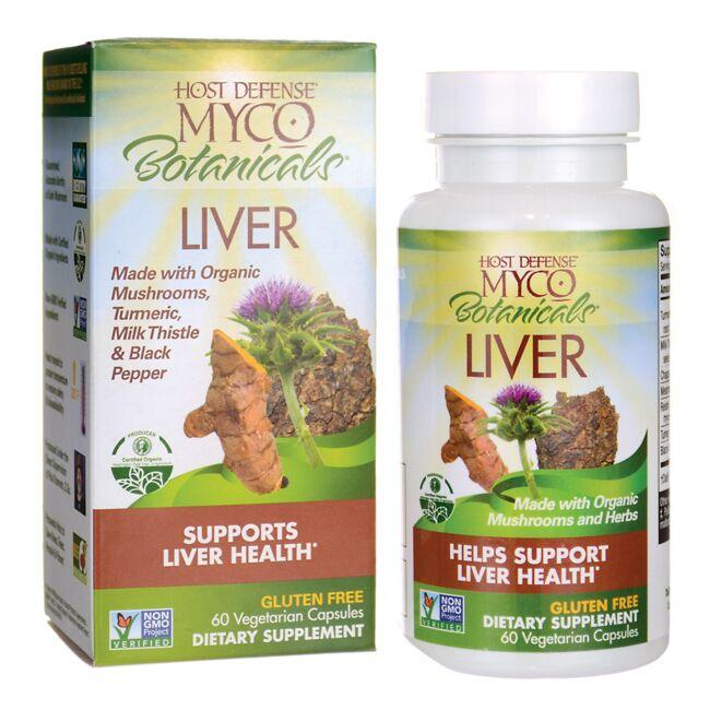 Fungi Perfecti Host Defense MYCO Botanicals Liver