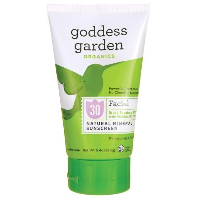 Goddess GardenFacial Natural Mineral Sunscreen - SPF 30
