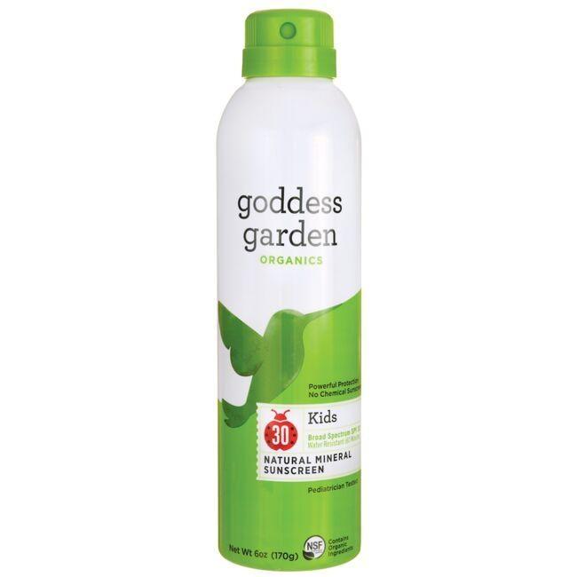 Goddess GardenKids Natural Mineral Sunscreen Continuous Spray -SPF 30