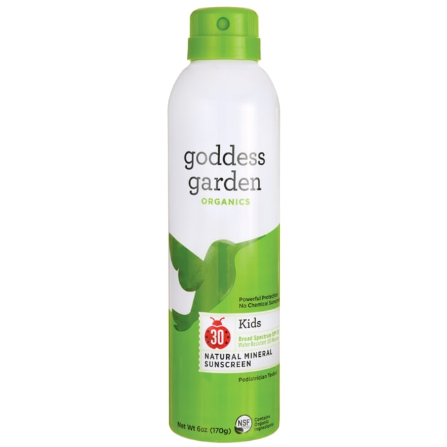 Goddess GardenKids Natural Mineral Sunscreen Continuous Spray -SPF 30