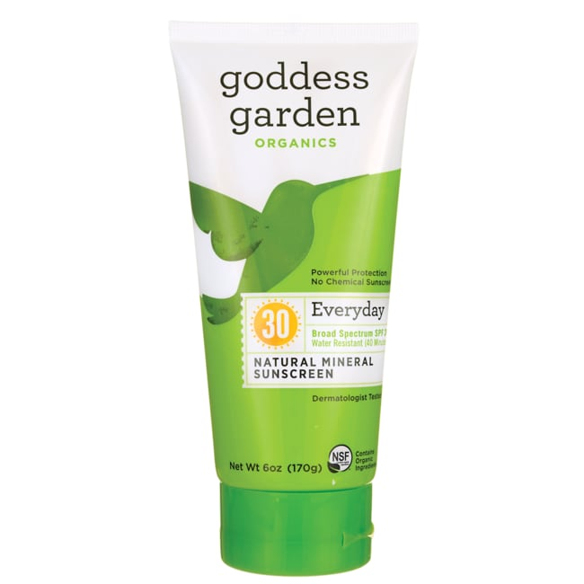 Goddess Garden Sunnybody Natural Sunscreen Spf 30 6 Oz Lotion Swanson Health Products
