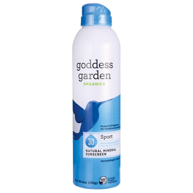 Goddess GardenSunnyBody Sport Natural Sunscreen Spray - SPF 30