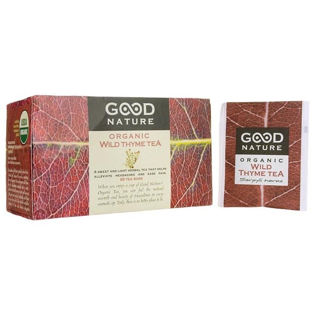 Good Nature Wild Thyme Organic Tea