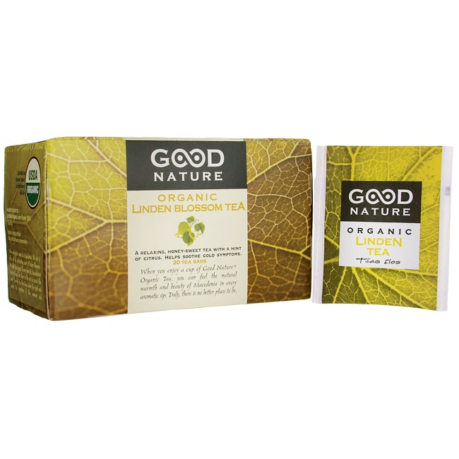 Good Nature Linden Blossom Organic Tea