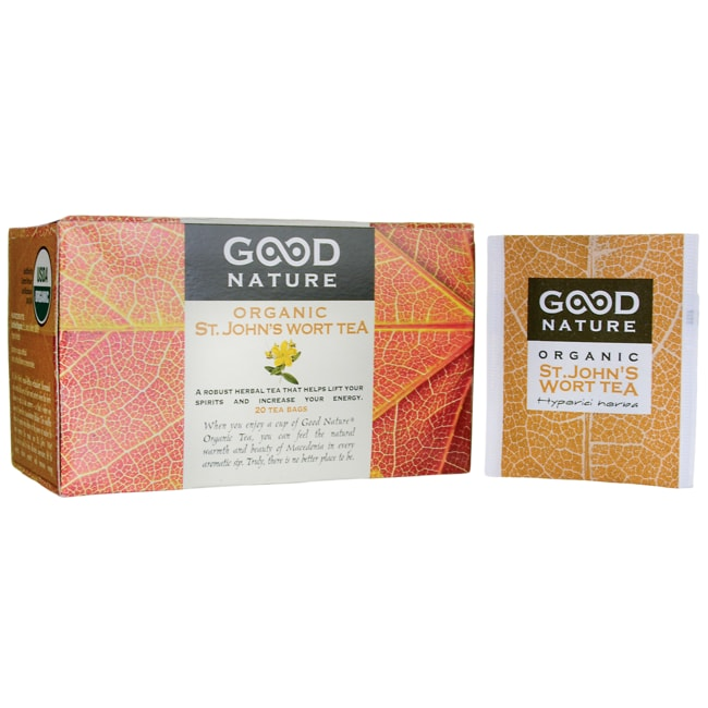 Good NatureSt. John's Wort Organic Tea