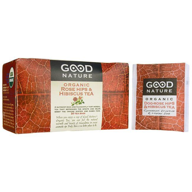 Good Nature Rose Hips & Hibiscus Organic Tea