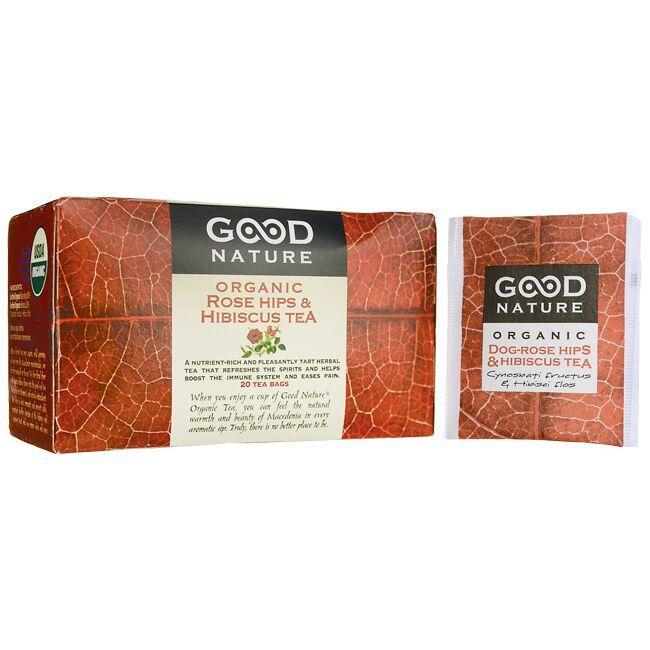 Good NatureRose Hips & Hibiscus Organic Tea