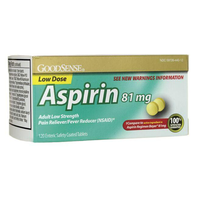 Good SenseAspirin Low Dose