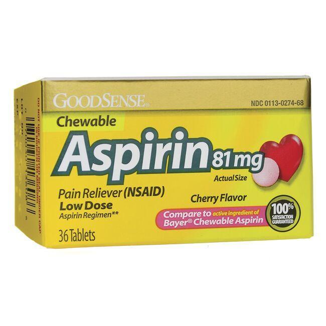 Good SenseAspirin Low Dose