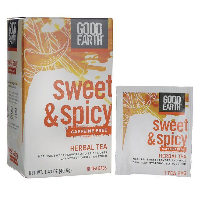 Good Earth Sweet & Spicy Caffeine Free Herbal Tea