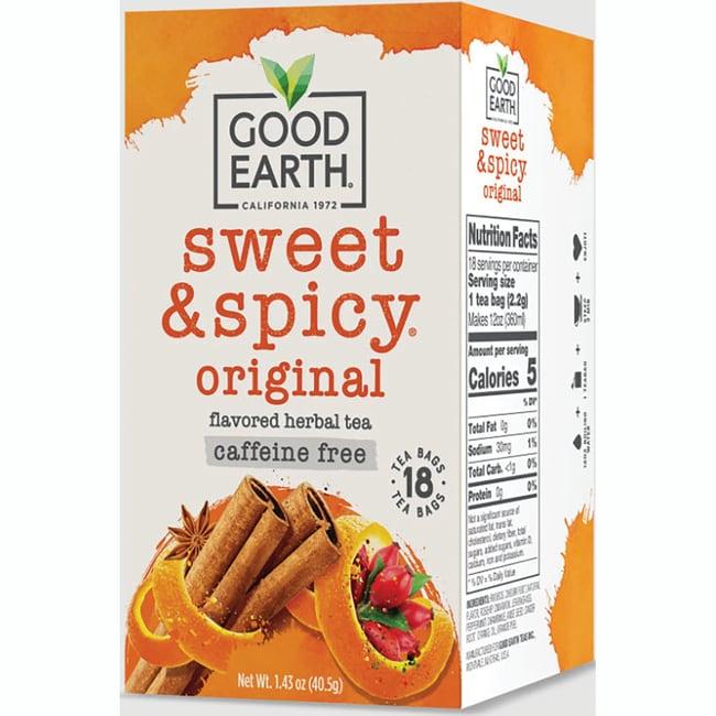 Good Earth Sweet & Spicy Caffeine Free Herbal Tea