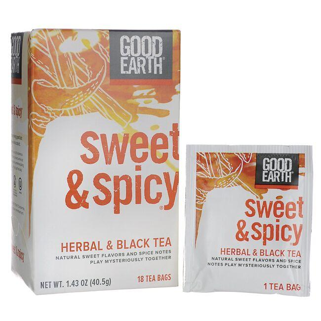 Good Earth Sweet & Spicy Herbal & Black Tea