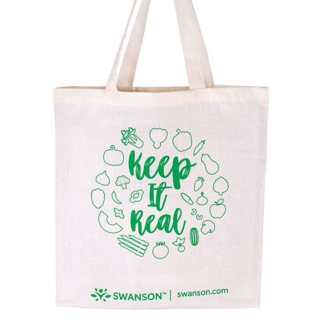 Swanson Health Products, Inc. Keep It Real Tote Bag