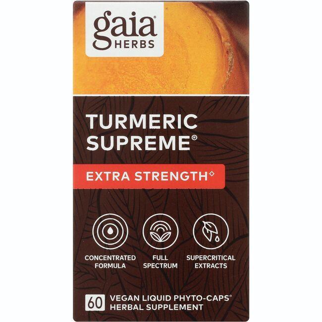 Gaia HerbsTurmeric Supreme - Extra Strength