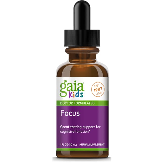 Gaia Herbs GaiaKids Attention Daily Herbal Drops