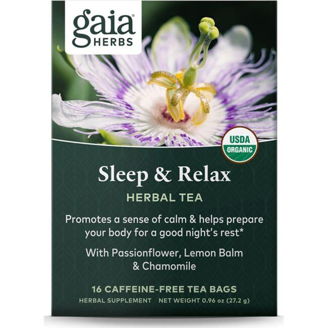 Gaia Herbs Sleep & Relax Herbal Tea