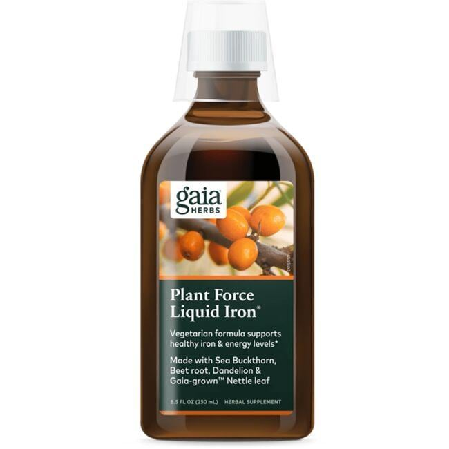 Gaia Herbs PlantForce Liquid Iron